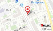 Отель Кристалл на карте
