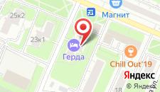 Отель Герда на карте