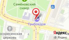 Гостиница Старый город на карте