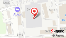 Гостиница Спокойной ночи на Авиамоторной на карте