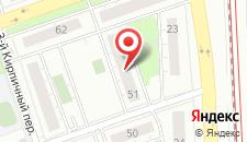 Хостел На Кирпичной на карте