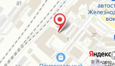 Гостиница Рубикон на карте