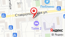 Гостиница Отдых-8 на карте