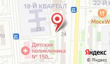 Отель Ла Скала Краснодонская на карте