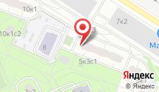 Отель Рациональ на карте