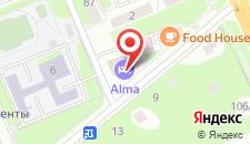 Отель Глобус на карте