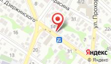 Отель Шоколад на карте