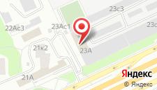 Отель на Щелковской на карте
