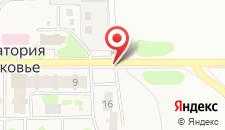 Санаторий Подмосковье УДП РФ Корпус Люкс на карте