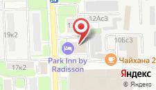 Гостиница DP Park Izmailovo Moscow на карте