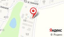Гостевой дом Пилот на карте