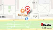 Хостел Моя Солнечная Бабушка на Щелковской на карте