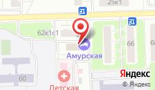 Гостиница Брусника Щелковская на карте