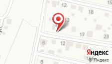 Коттедж В Заборье на карте