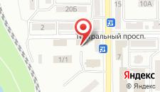 Бутик-Отель Azania на карте