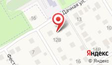 Апартаменты В Мамонтовке на карте