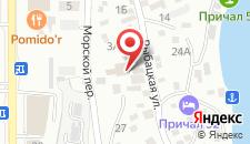 Отель Солнечная Гавань на карте