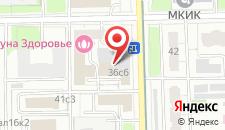 Гостиница София на карте