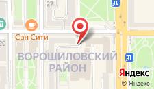 Отель Donbass Palace на карте