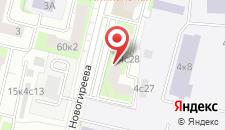 Хостел В гостях Новогиреево на карте