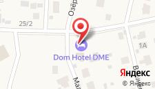 Гостиница Коробово на карте