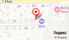 Гостевой дом Мия на карте