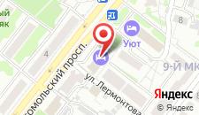 Гостиница Стойлянка на карте