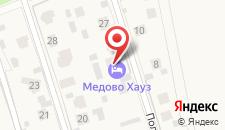 Гостиница Медово Хауз на карте