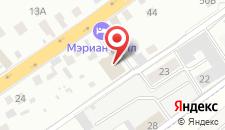 Отель Мериан Холл на карте