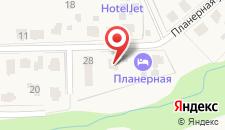 Отель Планерная Домодедово на карте