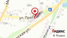 Гостиница Гостевой Домик на карте