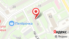 Апартаменты На юге Пушкино на карте