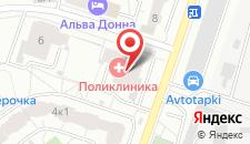 Хостел Белая Дача на карте