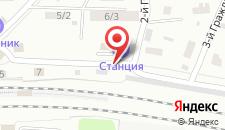 Гостиница Станция Королев на карте