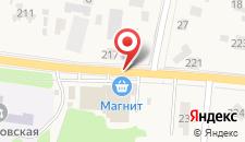 Гостиница Носовиха на карте