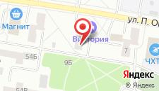 Гостиница Виктория на карте