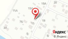 Гостиница Пехорская на карте
