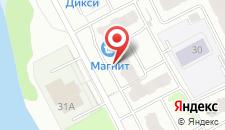 Апартаменты Заречная на карте