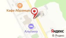 Клуб-отель Галерея на карте