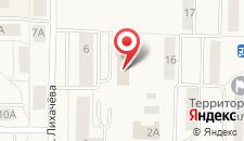 Отель Адамас на карте