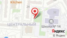 Апартаменты В Железнодорожном на карте
