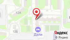 Мини-отель ДАЛИ на карте