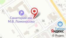 Гостиница Круиз на карте