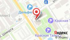 Санаторий Красная Талка на карте