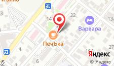 Отель Камелот на карте