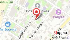 Гостиница Black Sea на карте