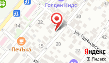 Гостевой дом На Тельмана на карте