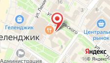 Отель Москва на карте