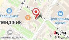 Отель Центральный на карте
