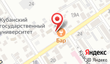 Гостиница Кузбасс на карте